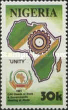 [Organization of African Unity Heads of State and Governments Meeting, Abuja, type SN]