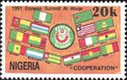 [Economic Community of West African States Summit Meeting, Abuja, type SP]
