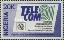 "[The 6th World Telecommunication Exhibition ""Telecom '91"" - Geneva, type SV]"