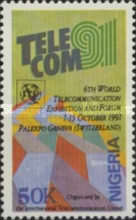 "[The 6th World Telecommunication Exhibition ""Telecom '91"" - Geneva, type SW]"