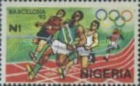[Olympic Games - Barcelona, Spain, type SY]