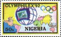 "[Olympic Stamp Exhibition ""Olymphilex '92"" - Barcelona, Spain, type TG]"