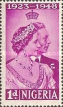 [The 25th Anniversary of the Wedding of King George VI and Queen Elizabeth, type U]