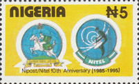 [The 10th Anniversary of Nigerian Post and Telecommunication Corporations, type VI]