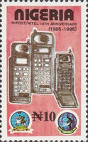 [The 10th Anniversary of Nigerian Post and Telecommunication Corporations, type VJ]