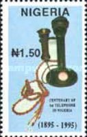 [The 100th Anniversary of the First Telephone in Nigeria, type VS]