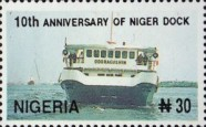 [The 10th Anniversary of Niger Dock, type VZ]