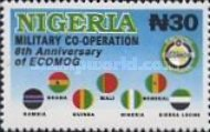 [The 8th Anniversary of Economic Community of West African States Military Arm (ECOMOG), type WW]