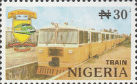 [The 100th Anniversary of Nigerian Railway Corporation, type XB]
