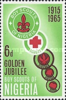 [The 50th Anniversary of Nigerian Scout Movement, type XDM]