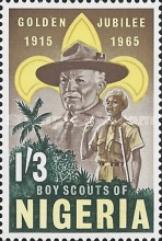 [The 50th Anniversary of Nigerian Scout Movement, type XDN]