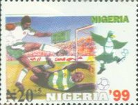[The 11th World Youth Football Championship, Nigeria, type XE]