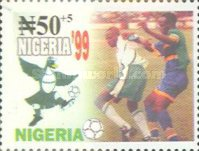 [The 11th World Youth Football Championship, Nigeria, type XH]