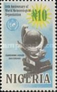 [The 50th Anniversary of World Meteorological Organization, type XS]