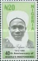 [The 40th Anniversary of Nigeria's Independence, type YD]