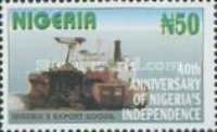 [The 40th Anniversary of Nigeria's Independence, type YG]