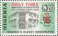 [The 75th Anniversary of The Daily Times of Nigeria, type YL]