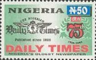 [The 75th Anniversary of The Daily Times of Nigeria, type YO]