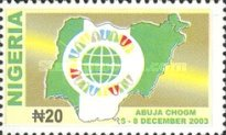 [Commonwealth Heads of Government Meeting, Abuja, type ZS]