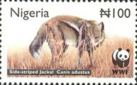 [Endangered Species - Side-Striped Jackal, type ZX]