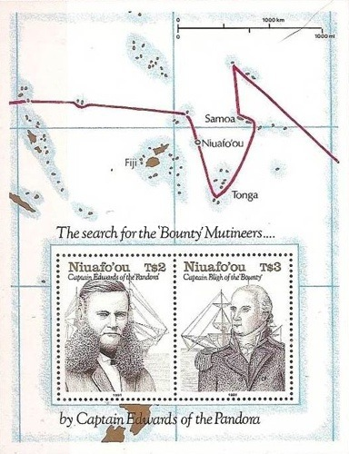 [The 200th Anniversary of Charting of the Island Niuafo'ou by Captain Edwards, type ]