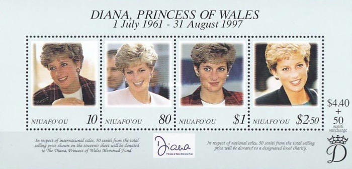 [The Death of Princess Diana, 1961-1997, type ]