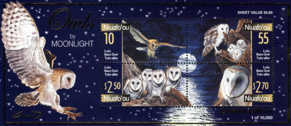 [Barn Owls in the Moonlight, type ]