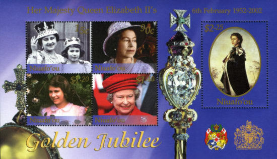[The 50th Anniversary of the Accession of Queen Elizabeth II, type ]