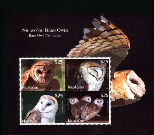 [Airmail - Barn Owls, type ]