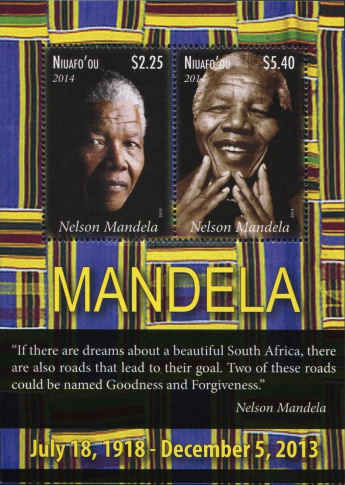 [The 1st Anniversary of the Death of Nelson Mandela, 1918-2013, type ]