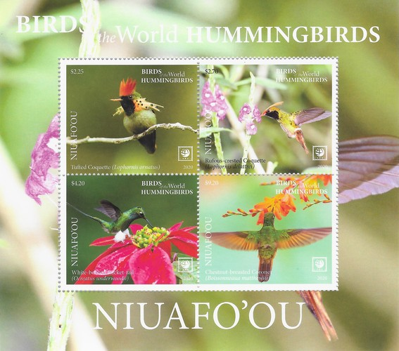 [Birds of the World - Hummingbirds, type ]
