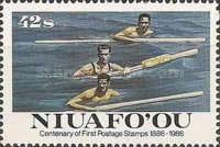 [The 100th Anniversary of First Tonga Stamps, type AX]