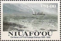 [The 100th Anniversary of First Tonga Stamps, type AZ]