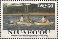 [The 100th Anniversary of First Tonga Stamps, type BA]