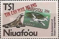 [The 5th Anniversary of Niuafo'ou Stamps - The 5th Anniversary of Airport, type BQ]