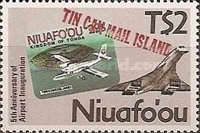 [The 5th Anniversary of Niuafo'ou Stamps - The 5th Anniversary of Airport, type BR]