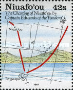 [The 200th Anniversary of Charting of the Island Niuafo'ou by Captain Edwards, type EE]