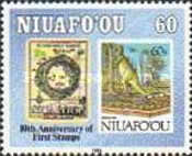 [The 10th Anniversary of Stamps in Niuafo'ou, type GA]