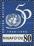[The 50th Anniversary of United Nations - The 50th Anniversary of End of Second World War, type HR]