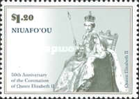 [The 50th Anniversary of the Coronation of Queen Elizabeth II, type LU]