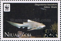 [WWF ISsue of 212 Surcharged, type NA1]