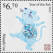 [Chinese New Year 2020 - Year of the Rat, type VF]