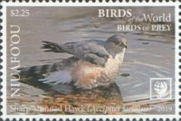 [Birds of the World - Birds of Prey - White Frame, type VG]