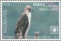 [Birds of the World - Birds of Prey - White Frame, type VH]