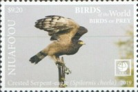 [Birds of the World - Birds of Prey - White Frame, type VJ]