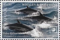 [Marine Life - Whales and Dolphins of the World, type VT]