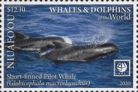 [Marine Life - Whales and Dolphins of the World, type VU]