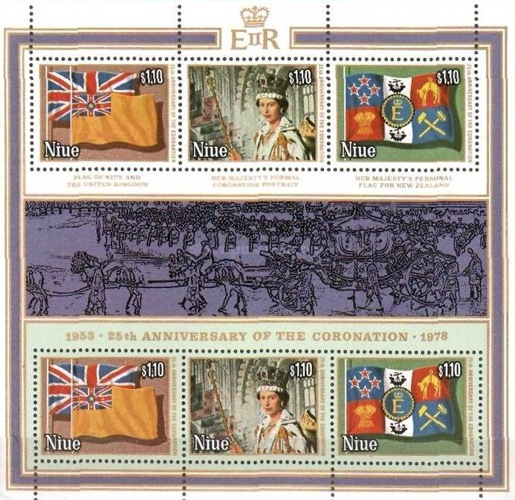[The 25th Anniversary of the Regency of Queen Elizabeth II - Different Frame Colours, type ]