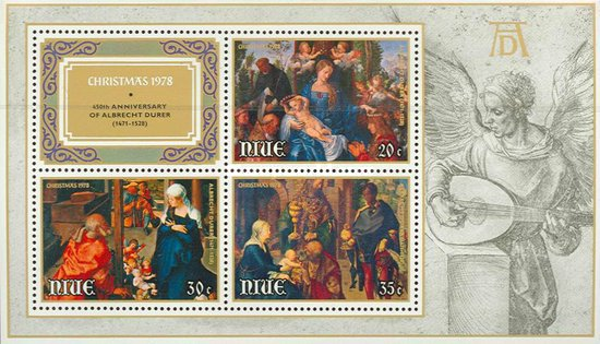 [Christmas - The 450th Anniversary of the Birth of Albrecht Durer, 1471-1528, type ]