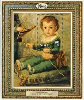 [International Year of the Child - Paintings, type ]